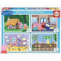 Puzzle multi 4 jr peppa pig fsc(r) - 04018645
