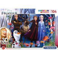 Puzzle 3d vision frozen 2 - 06620611