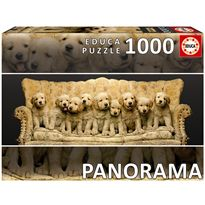 Puzzle 1000 goldens en sofa