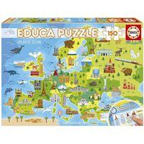 Puzzle 150 mapa europa - 04018607