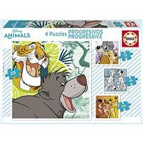 Puzzle progressive disney animals 2 - 04018628