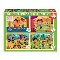 Puzzle multi 4 jr deportes * - 04018602