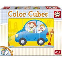 Color cubes 6 vehiculos - 04014577