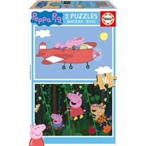 Puzzle 2x16 peppa pig - 04017157