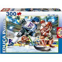Puzzle 300 hockey sobre hielo - 04015473