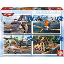 Puzzle planes multi 4 - 04015568