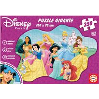 Puzzle 250 gigante princesas disney - 04012635