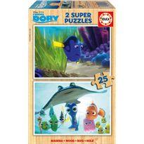 Puzzle 2x25 dory - 04016694