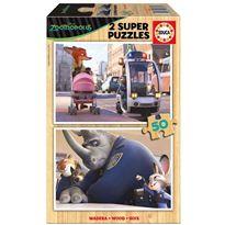 Puzzle 2x50 zootropolis - 04016804