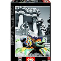Puzzle 500 parc guell barcelona - 04015319