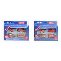 Caja 3 vehiculos y helicoptero 1:64 - 91483148