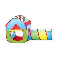 Tienda de tela con tunel plegable - 87810131