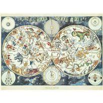 Puzzle 1500 mapa mundial de bestias fantásticas - 26916003(1)