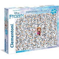 Puzzle 1000 imposible frozen - 06639360