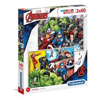 Puzzle 2x60 the avengers - 06621605