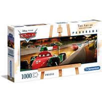 Puzzle 1000 cars panorama - 06639488