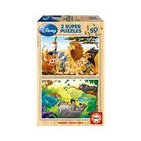 Puzzle 2x50 animals friends - 04013144