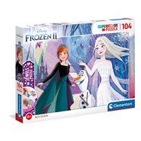 Puzzle 104 frozen - 06620182