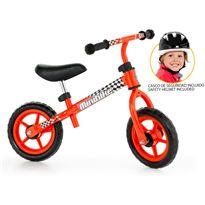 Molto mini bike roja + casco