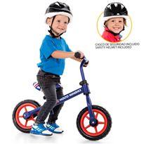 Molto mini bike azul + casco