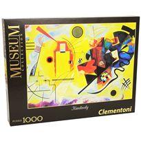 Puzzle 1000 kandiskij: ´amarillo - rojo - azul´