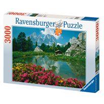 Puzzle 3000 pzs passo di sella, dolomitas