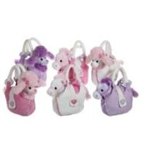 Girly bag, perito mascota en bolso 20 cm