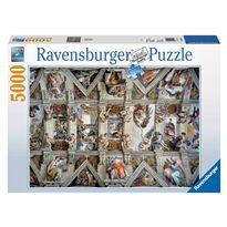 Puzzle 5000 capilla sixtina