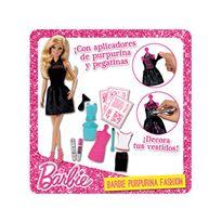 Barbie purpurina fashion
