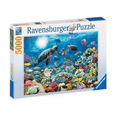 Puzzle 5000 maravillas del mundo submarino