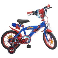 Bicicleta spiderman 14""