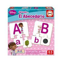 Aprendo el abecedario doctora juguetes
