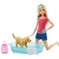 Barbie y su perrito chip chap