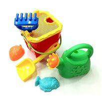 Cubo de playa con 6 piezas 17x17 - 87844803
