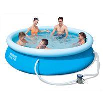 Set de piscina redonda aro inflable ø305x76 cm. - 86757270