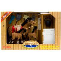 Conjunto de caballos forrados 6 mod. - 90037030(5)