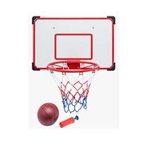 Tablero baloncesto 69x45,5 con pelota y inflador - 97201686