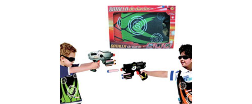 Pistolas Dardos y Dianas