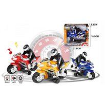 Moto 23 fricción con luces y sonidos - 87880859
