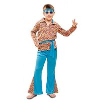 Hippie psicodélico niño 10-12 - 55201981