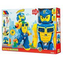 Robot transformers + 15 piezas - 26518466