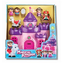 Castillo infantil con figuras - 92332902(2)