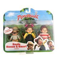 Monchhichi pack de 3 - 23381504