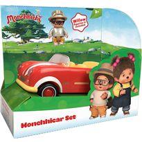 Monchicar vehiculo con figura - 23381513