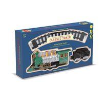 Circuito tren con luz y humo 10 pzas - 87889904