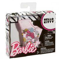 Barbie moda camiseta rosa pastel - 24560330