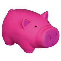 Cerdo con sonido original de látex 11 cm - 69035173