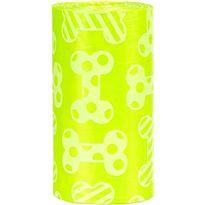 4 rollos de 20 bolsas con aroma limón talla m - 69023473
