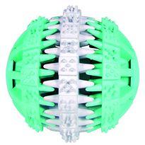 Pelota denta fun menta caucho natural 7 cm - 69032942