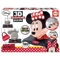 Minnie color 3d sculpture - 04017930